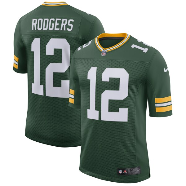 Men's NFL Green Bay Packers Aaron Rodgers Nike Home - Limited Player Jersey