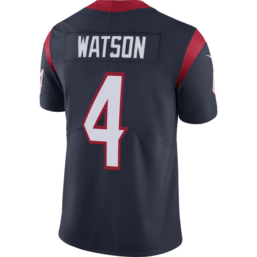 Men's NFL Houston Texans Deshaun Watson Home- Limited Player Jersey