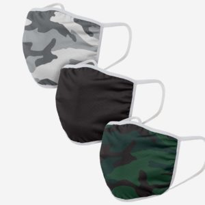 Camo 3 Pack Face Cover