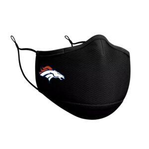 Adult NFL Denver Broncos New Era Black On-Field Face Covering