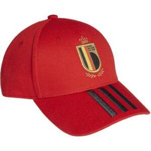 Belgium National Soccer Team 2020-21 Adidas Adjustable Hat  Red